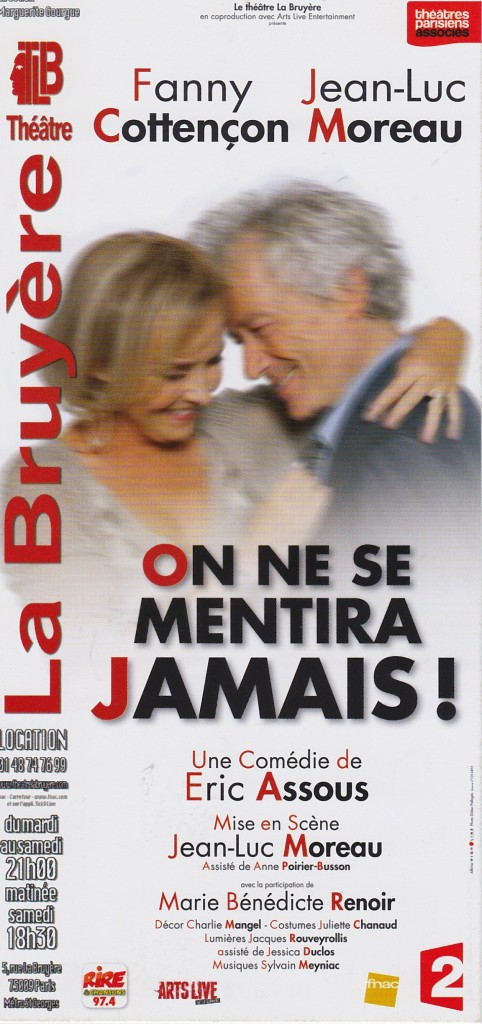 On ne se mentira jamais - Jeune Vieillis Pas - Blog femmes 50 ans.