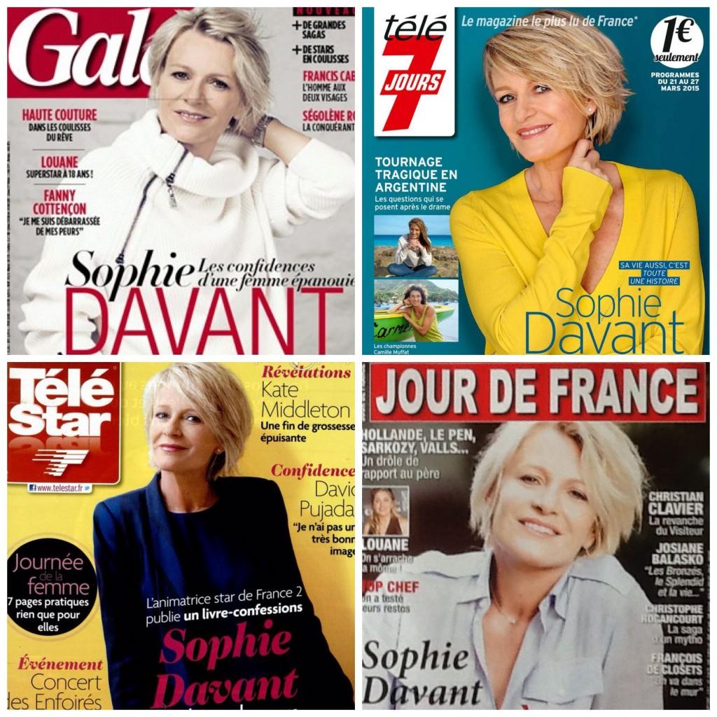 Age de Sophie Davant - Jeune Vieillis Pas - blog femmes 50 ans - blog quinqua;