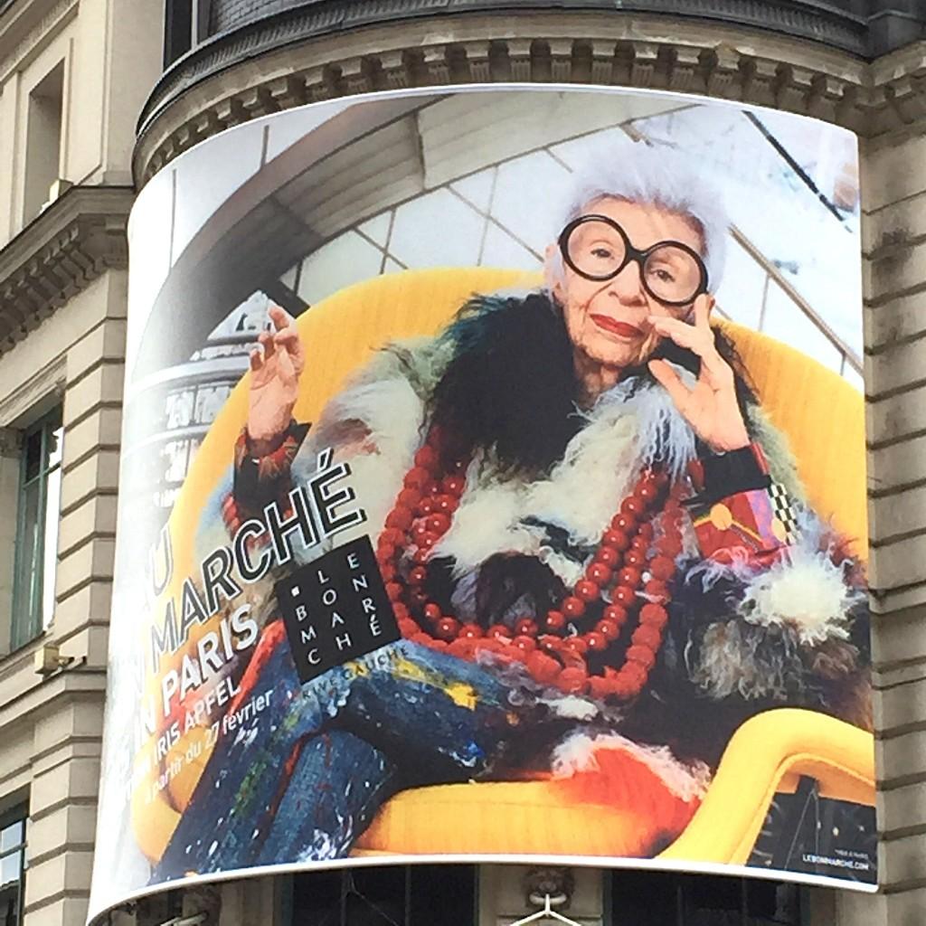 Iris Apfel - blog femmes 50 ans - blog quinqua - cinquantaine