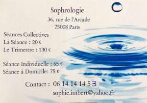 Sophie Imbert Sophrologie 2