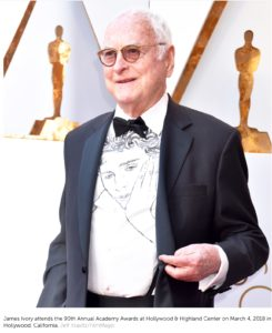 James Ivory aux Oscars