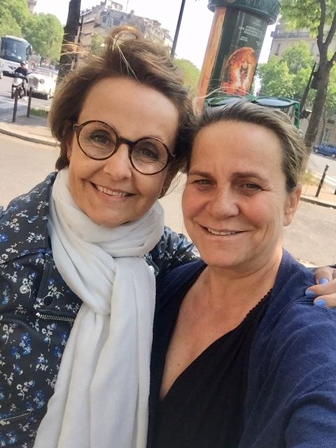 Virginie Gorse et Florence Servan-Schreiber