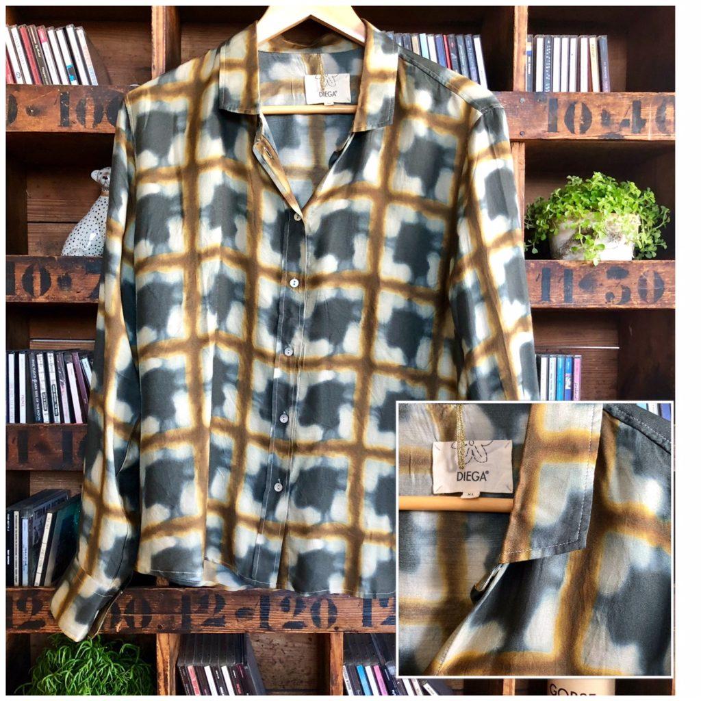 327ac99aec16 J ai découvert cette marque Diega l été dernier. J avais déjà acheté une  chemise. Leur matière est hyper agréable. Bon, une par saison quand même…  185€