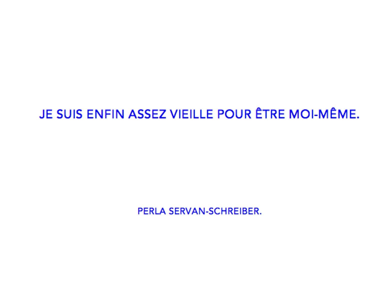 citation Perla Servan-Schreiber