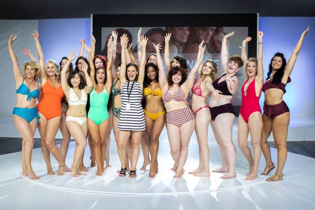 défilé salon de la lingerie, Body positive, blog quinqua