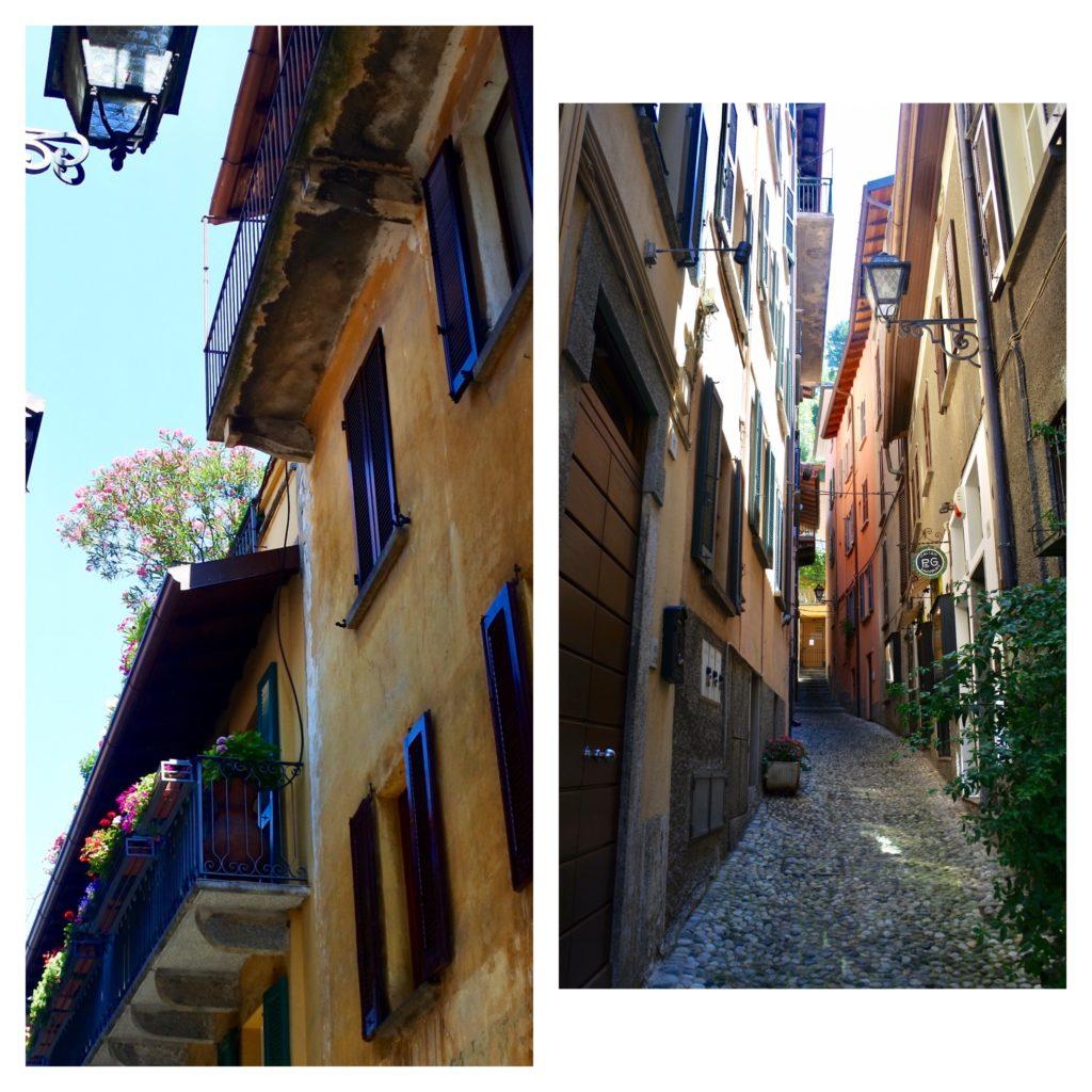 Les ruelles de Brunate, blog femmes quinqua
