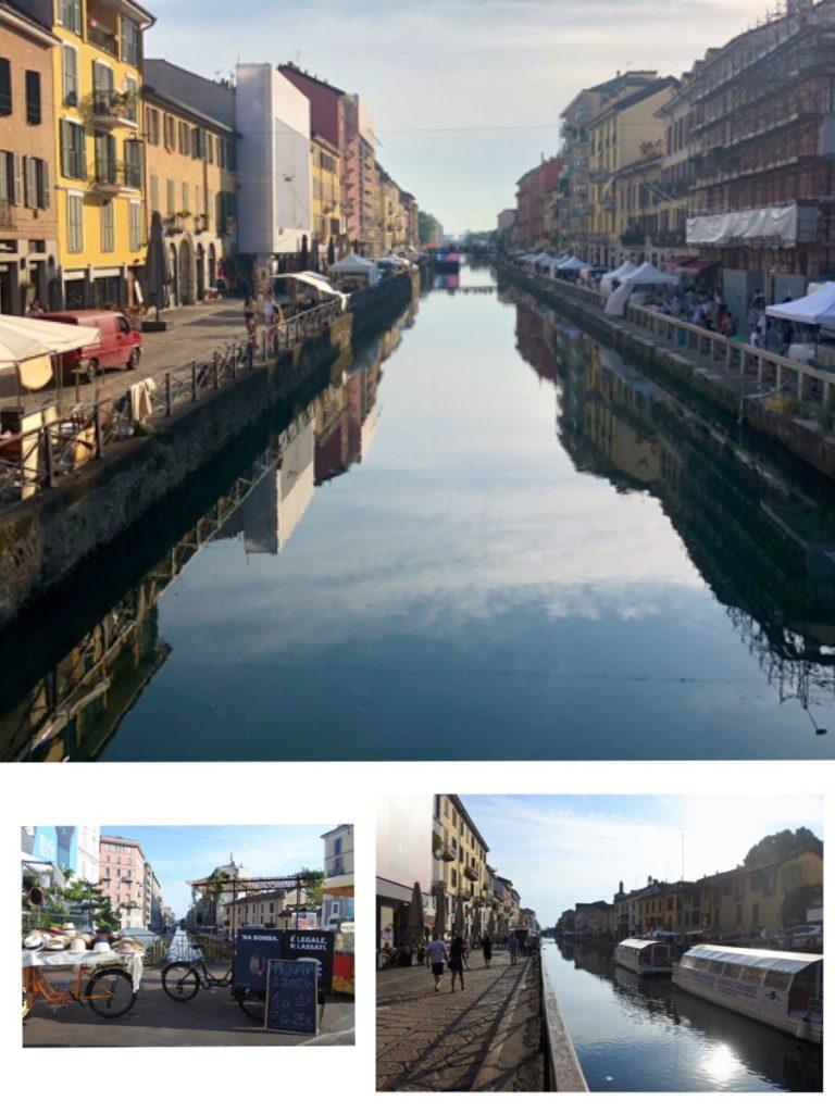 Les canaux de Milan, blog femmes 50 ans