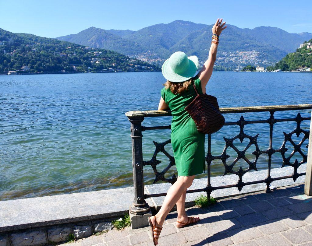 blog femmes plus de 50 ans, lac de Côme