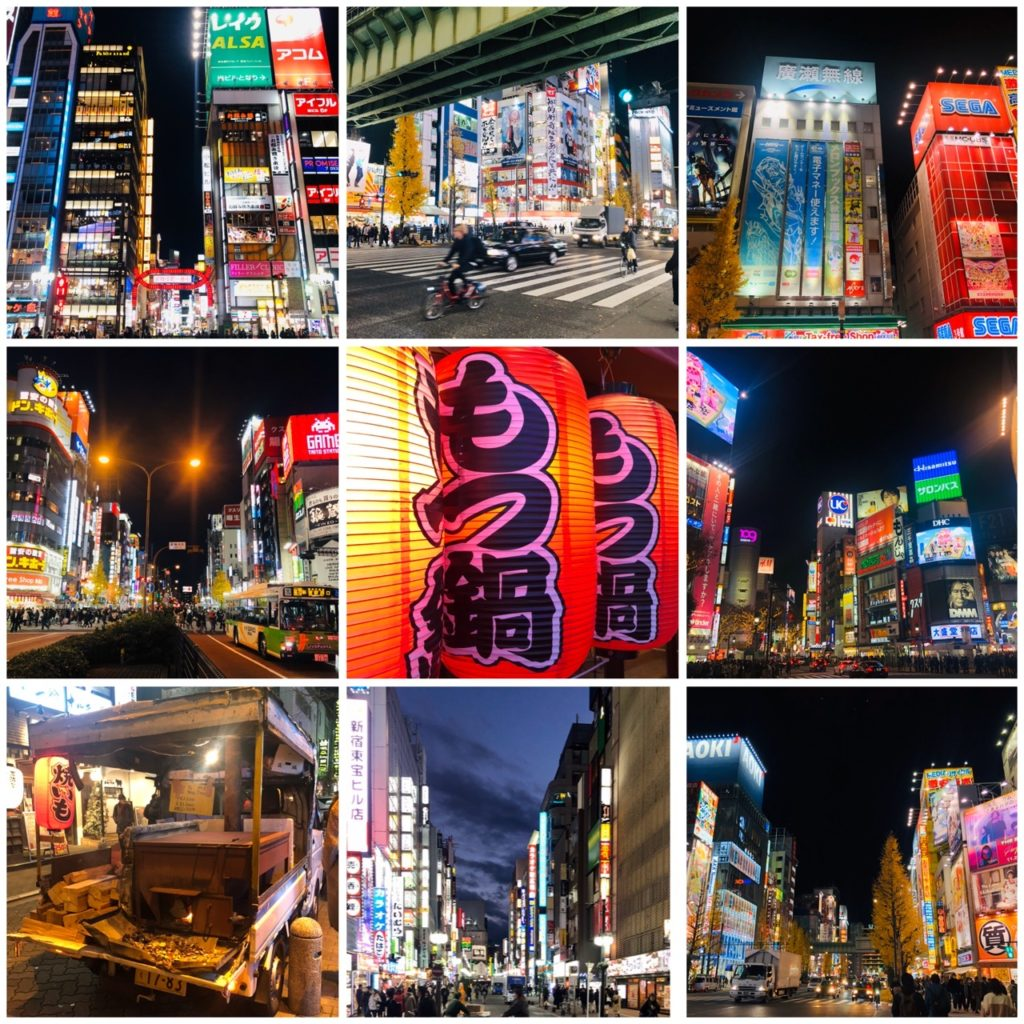 Tokyo, la nuit, blog femmes de plus de 50 ans