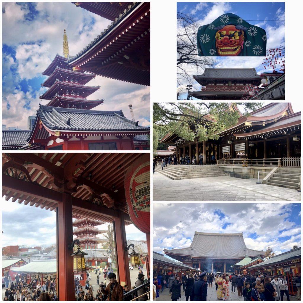 Tokyo, temples, blog femmes de plus de 50 ans