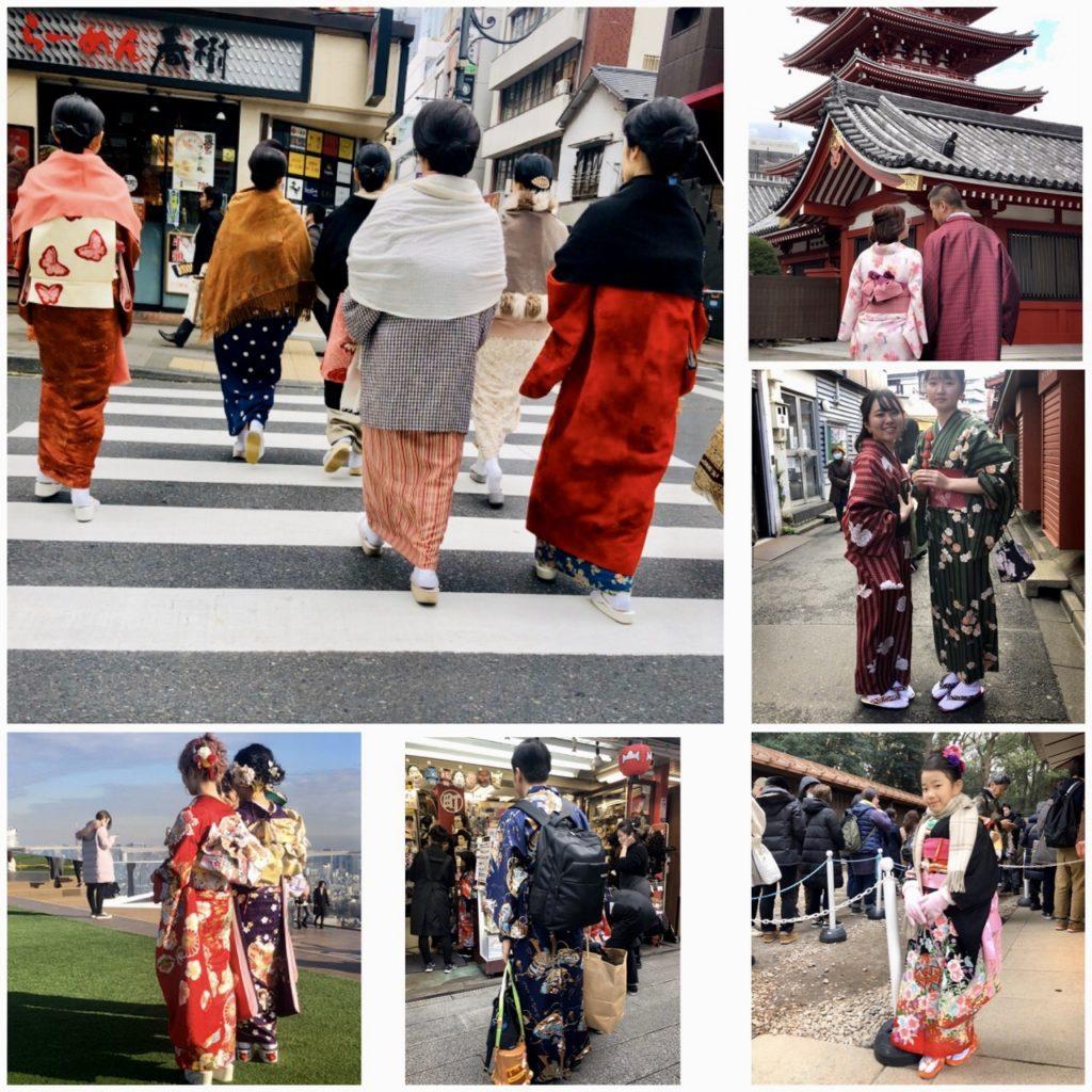 Femmes et hommes Tokyo traditionel, blog quinqua