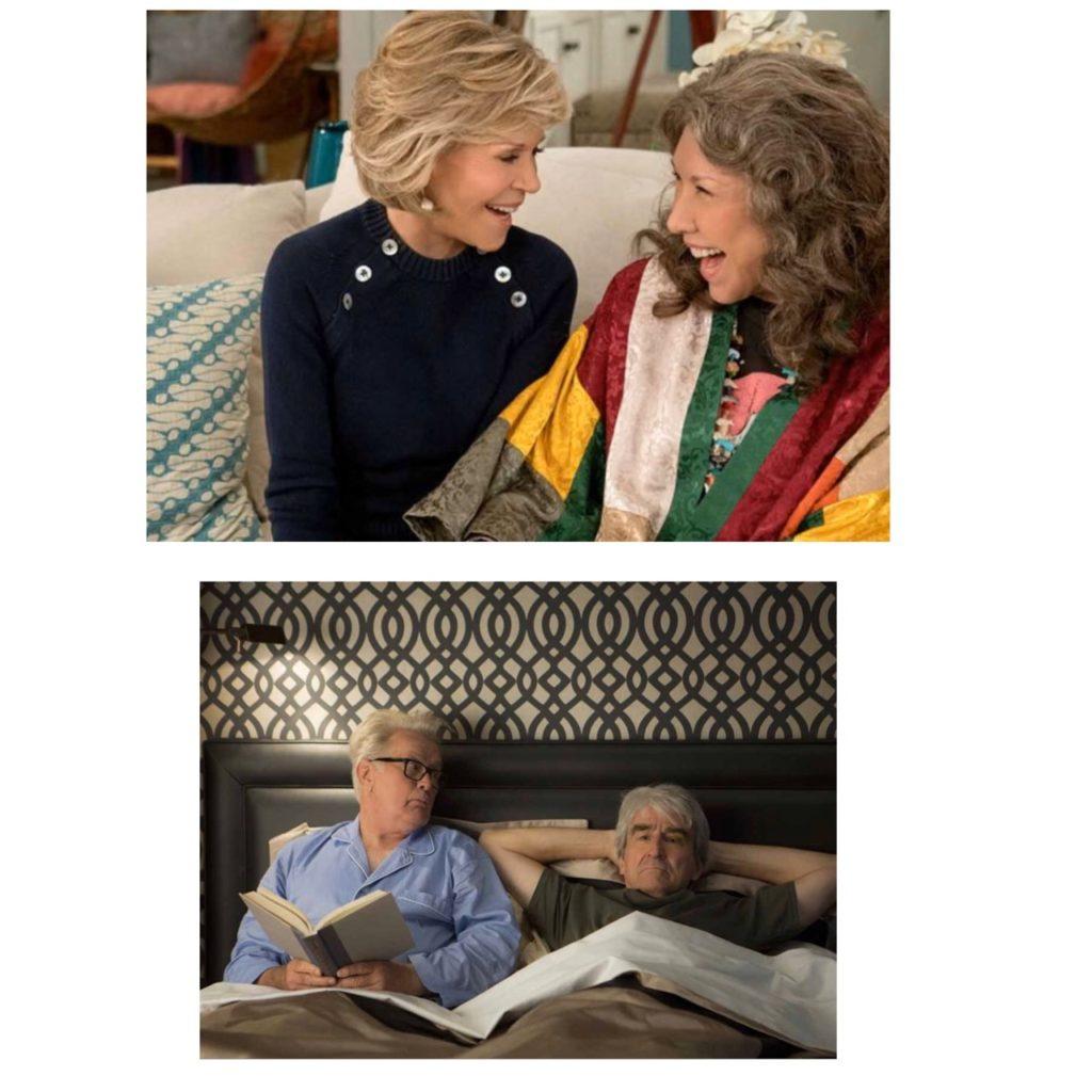 serie Grace et Frankie, blog femmes plus de 50 ans