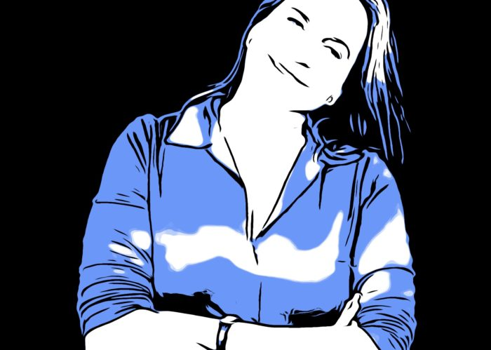 Portrait. Virginie Gorse, blog quinqua, femmes de plus de 50 ans
