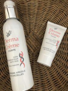 Derma creme, blog quinqua, Domaine apicole de Chezelles