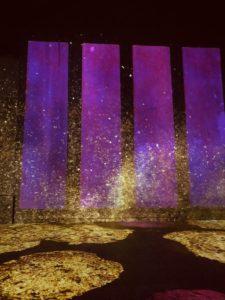 Yves Klein, Atelier des lumières, musée parisien
