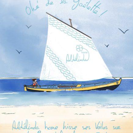 Aldélinda s'installe au Cap-Ferret